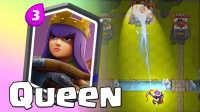 ★皇室战争★Clash Royale★现场展示隐藏的传奇卡牌-女王 #SP2★酷爱娱乐解说