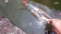 做一只简易的橡筋动力船-DIY