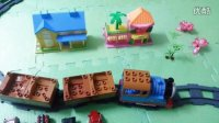 开心玩具乐园:四辆车运到终点:第九集