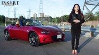 华裔美女试驾马自达MX-5 Mazda   Roadster敞篷跑车