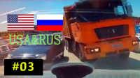 国外车祸视频合集 #03 行车记录仪车祸画面 交通事故视频合集 车祸现场视频