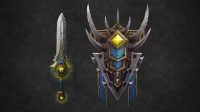魔兽世界7.0军团再临防御战士神器技能-耐萨里奥之怒