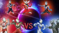 【Ultraman Fighting Evolution 3】VS CPU HARD难度(欧布奥特曼音乐试用第五弹)小影!