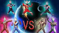 【Ultraman Fighting Evolution 3】VS CPU HARD难度(欧布奥特曼音乐试用第六弹)小影!
