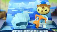 白白侠玩具秀:【海底小纵队】谢灵通和铲冰车