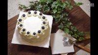 《糯米团子的厨房日记》第三期 蓝莓奶油蛋糕