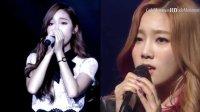 【瘦瘦】少女时代 金泰妍 Jessica(郑秀妍) 倾情对唱 Take A Bow