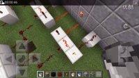MinecraftPE红石从0开始教程九 密码门