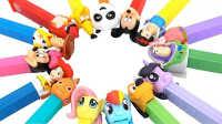 最受欢迎泡泡糖 玩具总动员来代言!艾莎公主 小马宝莉【彩虹乐园】超级飞侠 小猪佩奇 熊出没