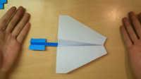 自制玩具-纸飞机-飞超远 #生活小知识#