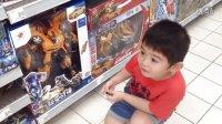 【5岁】8-12哈哈跟爸爸一起逛家乐福超市,喜欢变形金刚风火轮赛车玩具IMG_8156
