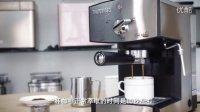 柏翠pe3360意式咖啡机咖啡制作教程