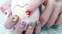 【甲油手繪系列】抓進你的指尖Pikachu