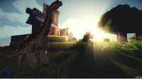 【元叔】《我的世界Mine craft》侏罗纪公园单人模组生存EP2鬼打墙?