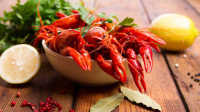 北欧人吃小龙虾,不加麻料是王道!