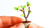 MYGIFT-软陶粘土教程-手工制作,在大自然中随便捡捡,枯木也能开花