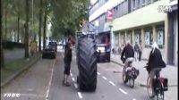 世界上最大的自制脚踏车