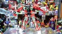 【红老弟转载】日本达人变形金刚定格动画 合体战争凯旋女神