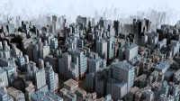 Maya2017:超牛城市创建;第一视角玩游戏
