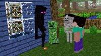【Minecraft】我的世界动画短片youtube搬运 monster school escape 2(越狱 2)第一期明天搬运