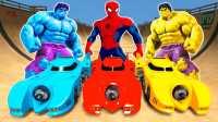 蜘蛛侠特技和绿巨人一起玩哦!美国队长 复仇者联盟 粉红猪小妹\小猪佩奇 托马斯小火车 艾莎公主 健达惊喜蛋奇趣蛋 猪猪侠 托马斯和他的朋友们