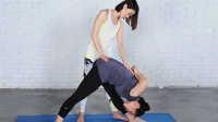 FitTime瑜伽体式-加强侧身展式