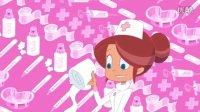 鲨鱼哥与美人鱼-喜欢当护士-喜剧-动画-动漫-卡通短片