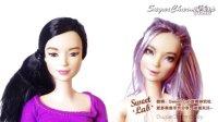 芭比娃娃Barbie面部改妆改娃教程{Sweet-Lab}