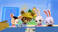 《火火兔学前英语》小班第2课 Where is Bunny?