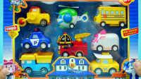 变形警车珀利 模型车大集合 迪士尼 玩具 罗伊与海利-少儿