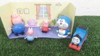 托马斯小火车送月饼 小猪佩奇&乔治做月饼 猪爸爸 哆啦A梦 粉红猪小妹 peppa pig 中秋节 托马斯和他的朋友们 机器猫