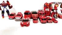 恐龙机器人 变形金刚玩具 恐龙玩具 救援机器人玩具 日本达人变形金刚