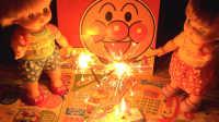 放烟花啦!芭比娃娃咪露和小雯的烟花大会过家家游戏 面包超人烟花儿童玩具
