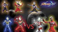 【Ultraman Fighting Evolution 3】VS CPU HARD难度闯关(欧布奥特曼形态登场)小影!