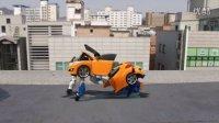 汽车人ferrari car transformers 婴幼玩具 变形金刚装配 儿歌  新系列玩具变形警车珀利 [迷你特工队之英雄的变形金刚]