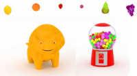 恐龙戴诺 第18集 边玩口香糖机边学习水果