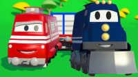 超级变形卡车 第2集 变成火车托运货物
