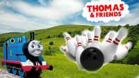 托马斯和他的朋友们:周末保龄球比赛 托马斯小火车 玩具 培西 高登 詹姆士