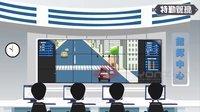 智能交通集成系统Flash/MG动画