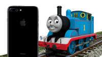 托马斯和他的朋友们:从KFC全家桶里撞出了iPhone 7 Plus 托马斯小火车 超级飞侠 哆啦A梦 小猪佩奇 变形金刚威震天