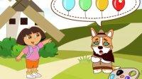 爱探险的朵拉:神奇的魔法笔之旅#朵拉探险趣味故事动画益智小游戏