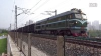 [火车]DF4B牵引数千吨货物高速通过 广铁沙段 开福区上行