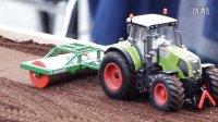 微缩农场主题 遥控拖拉机 拖头 挖土机等