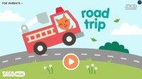 【肉肉】赛哥迷你小游戏 公路旅行 小猫驾驶冰激凌车找朋友