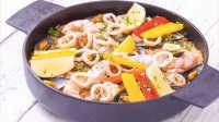 美食台 西班牙海鲜饭