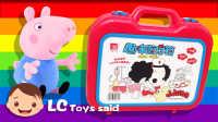 小猪佩奇的弟弟乔治和迷糊娃娃趣味玩具套装