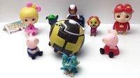 【小猪佩奇的玩具世界】小猪佩奇试玩惊险玩具 爆裂球 汪汪队立大功第二季