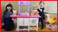 洋娃娃的家过家家玩具,宝宝照顾中心