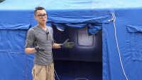 《萝卜实验室》之野营快速充气帐篷