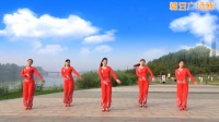 沐河之光广场舞 《人的命天注定》糖豆广场舞出品